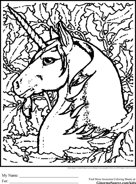 Advanced Coloring Pages Unicorn Fun Activities Pinterest Advanced Coloring Pages For