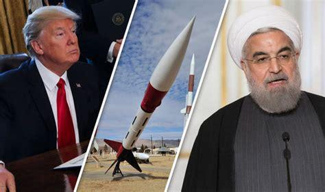 donald trump iran trump vs iran tehran fires missiles in retaliation to
