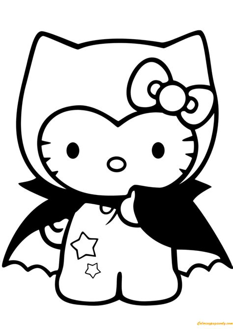 hello kitty dear daniel coloring pages hello kitty dracula coloring page hello kitty dear