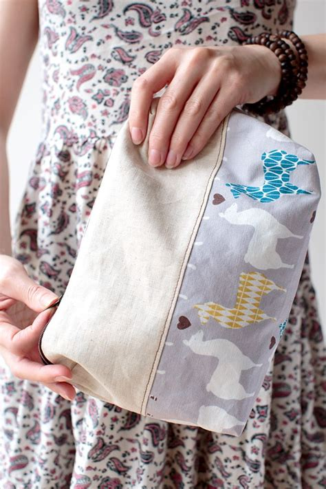Kit Wash Glow Pouch 2x400ml an adorable diy zipper pouch you can totally make an