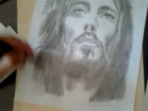 imagenes de jesucristo para dibujar a lapiz dibujo de jesucristo fb talento del aguila youtube