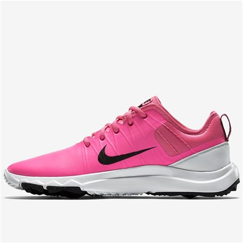 pink nike sneakers nike fi impact 2 golf shoes pink white black on