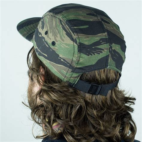Topi 5 Panels Thrasher Camo thrasher 5 panel hat tiger camo in stock at the boardr