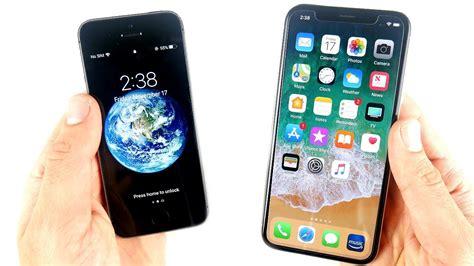 iphone 5s vs iphone x