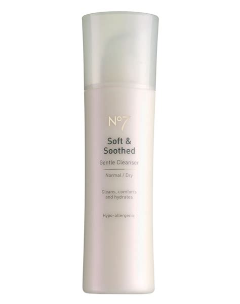boots no7 soft soothed gentle toner normal skin skin