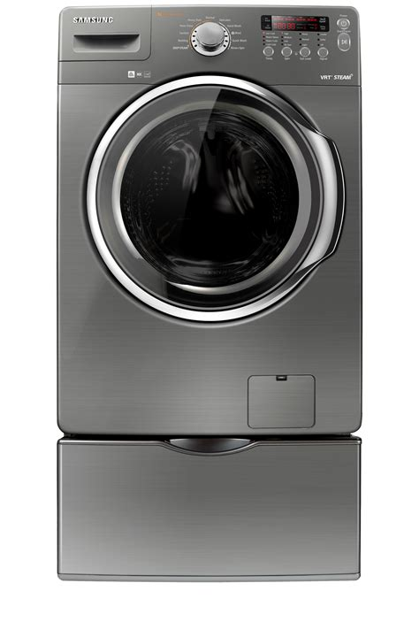 wf350anp 4 3 cu ft front load washer stainless platinum samsung canada