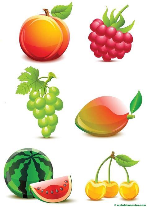 imagenes verdes para recortar dibujos de frutas y verduras web del maestro