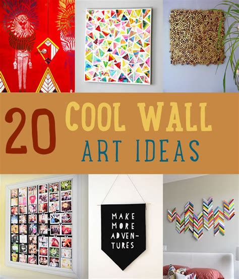 cool home decor ideas 20 cool home decor wall ideas diy tutorials