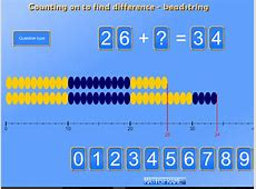 Add and subtract numbers using concrete objects, pictorial ... Mathsframe