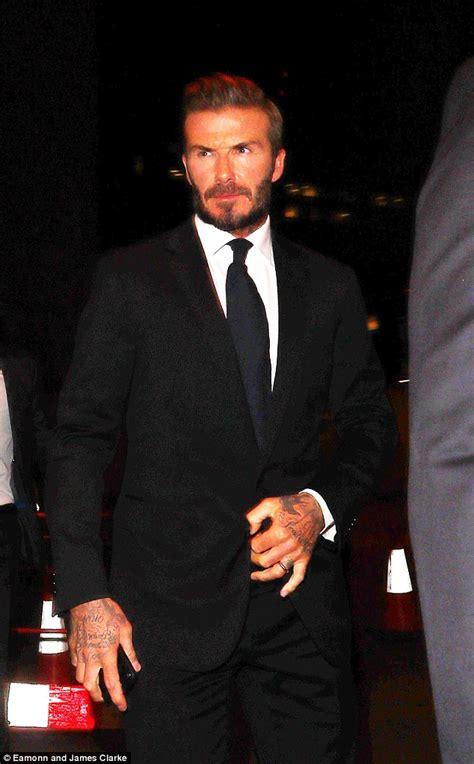 David Beckham Bentley David Beckham S 0 Bentley Gives Him Away As He Attempts To