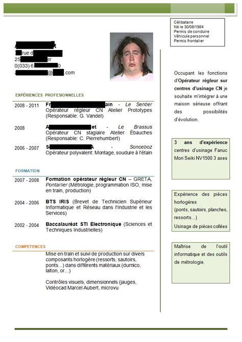 Télécharger Mise En Page Cv by Resume Format Mod 232 Les De Cv 233 Tudiant