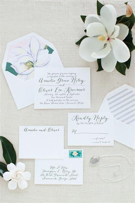 magnolia wedding invitations a magnolia wedding theme arabia weddings