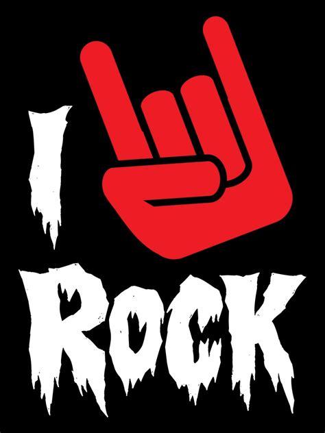 I Am Rock i rock t shirt musical slogan black buy