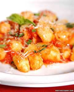 gnocchi recipe from the martha stewart show december 2007