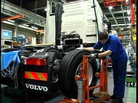 volvo truck factory sweden production of volvo truck 2012 youtube