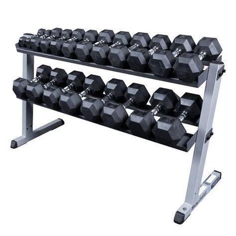solid gdr60 heavy duty dumbbell rack
