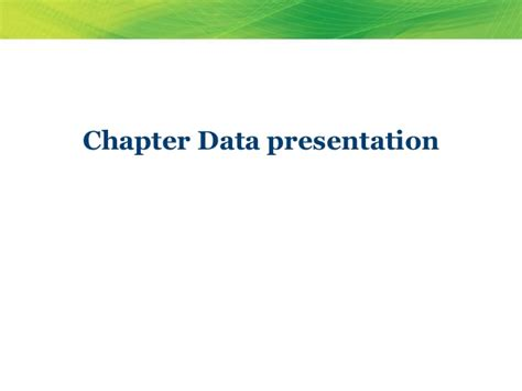 presentation and analysis of data in research paper data presentation and analysis for study research