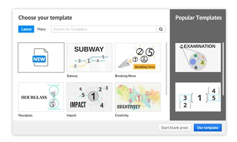 How Create Your Own Prezi Template Prezibase How To Choose A Template On Prezi Next