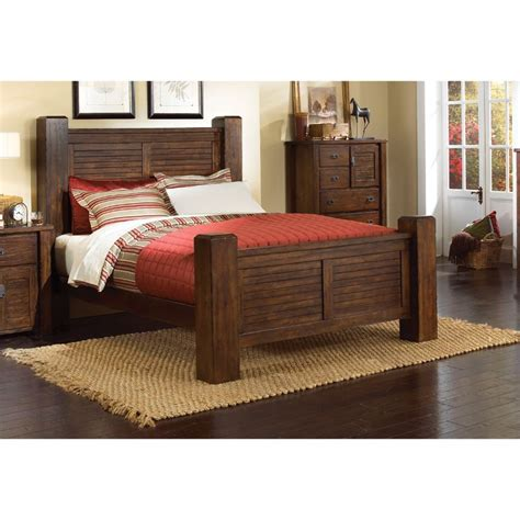 trestlewood bedroom set trestlewood king bed