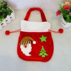 bolsas de dulces para navidad el nuevo alta calidad del terciopelo del oro navidad