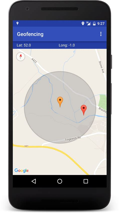 android geofence how to work with geofences on android