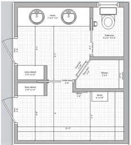 bathroom floor plans with closets pinterest the world s catalog of ideas