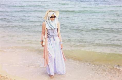 Baju Pantai Murah Keren 18 baju muslim ke pantai sitename