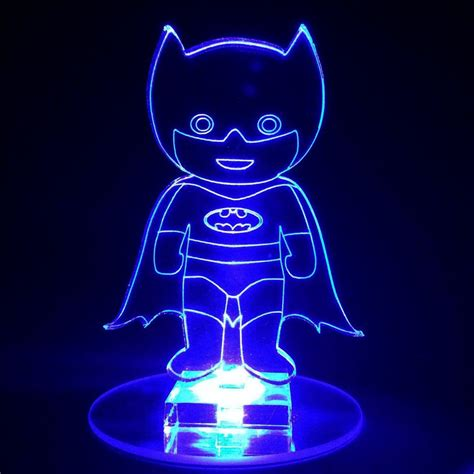 cool night lights for kids batman superhero flashing night light small novelty gift