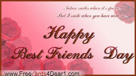 best friends day best friends day cards