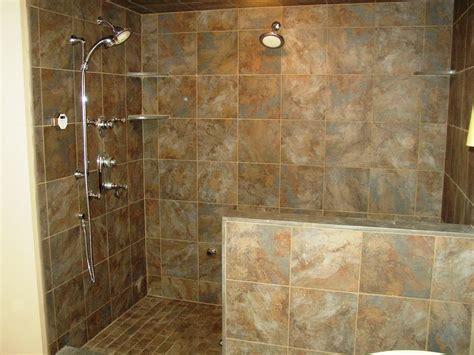 Small Bathroom Walk In Shower Designs by Walk In Shower Designs Doorless Small Bathroom With