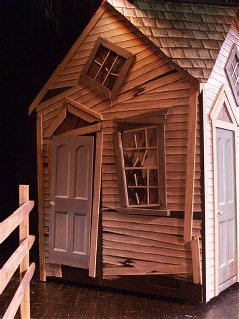 wizard of oz house dorothy s house after the storm www drurydrama com len