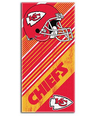 northwest company kansas city chiefs towel bath
