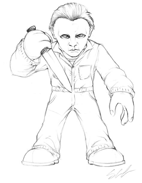 Michael Myers Free Coloring Pages On Art Coloring Pages Michael Coloring Pages