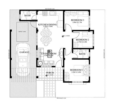 philippine house design with floor plan small modern philippines house home design