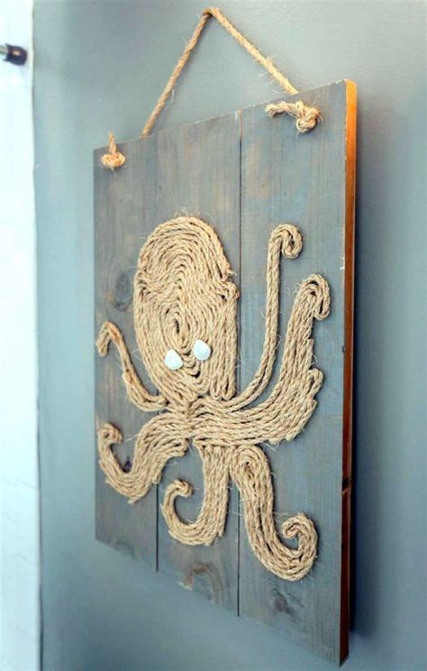 coastal amp beach wall art on wood panels with sea life