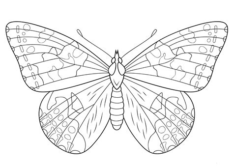 butterfly color pages 40 free printable butterfly coloring pages