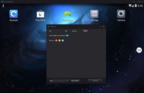 bluestacks uptodown the five best android emulators for pc