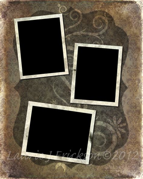 Photography By Laurie J Erickson Collage Templates 8x10 8x10 Album Template