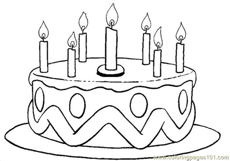 coloring pages free birthday coloring pages birthday coloring page 05 entertainment