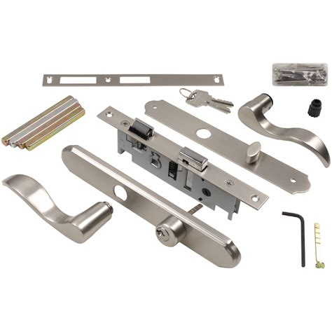 Knob Latch by Shop Wright Products 4 In Keyed Satin Nickel Screen Door