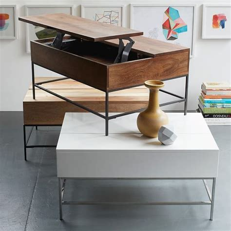 west elm bathroom storage industrial storage coffee table west elm 599 36 quot 699 50 quot could be used