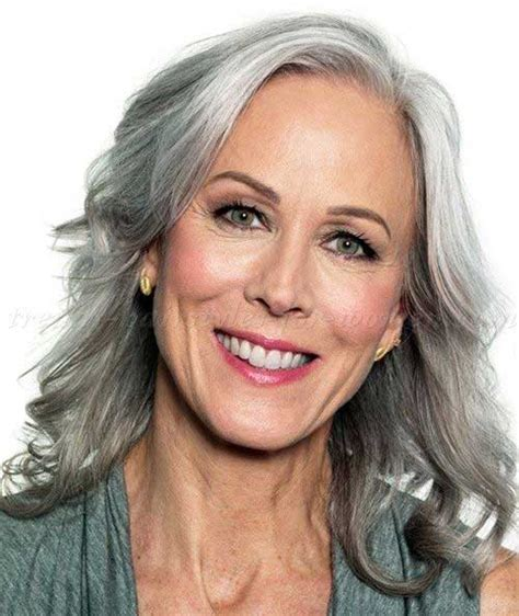 hairstyles for gray hair women over 55 25 long hairstyles for women over 50 long hairstyles