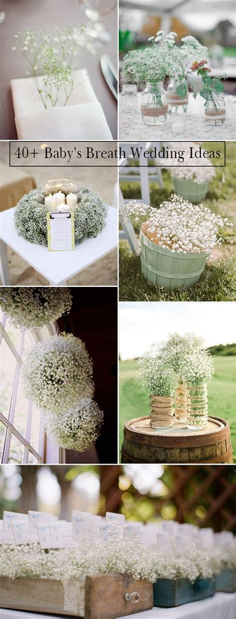 Wedding Invitations Staten Island by Wedding Flowers 40 Ideas To Use Baby S Breath Wedding