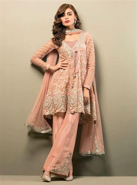 latest frock designs for ladies stylepk latest pakistani short frocks peplum tops styles designs