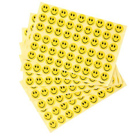 Aufkleber Rund Gelb by Gelbe Runde Smilies Aufkleber 324 Stk