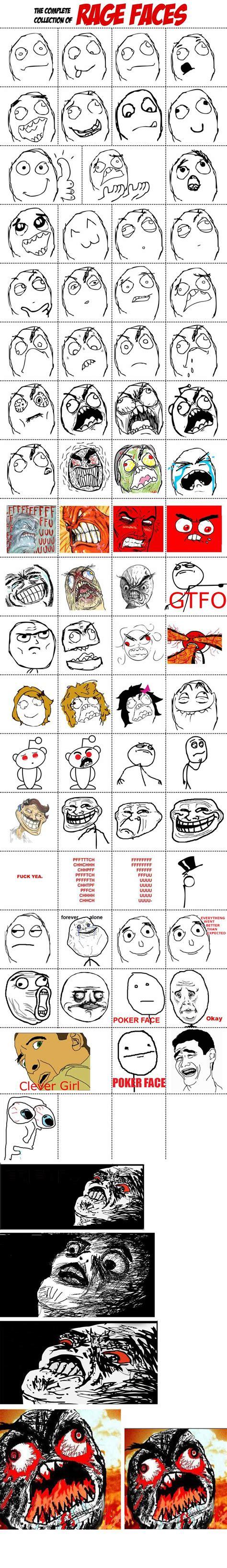 Rage Meme Faces - rage meme faces list www imgkid com the image kid has it