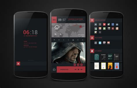 30 cool and customized android home screens hongkiat