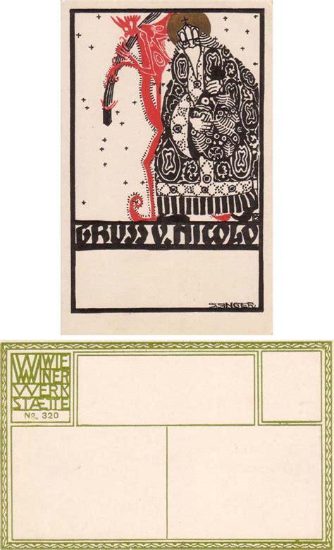 Postkarten Drucken Wien by Wiener Werkstaette Postkarten Wiener Werst 228 Tte