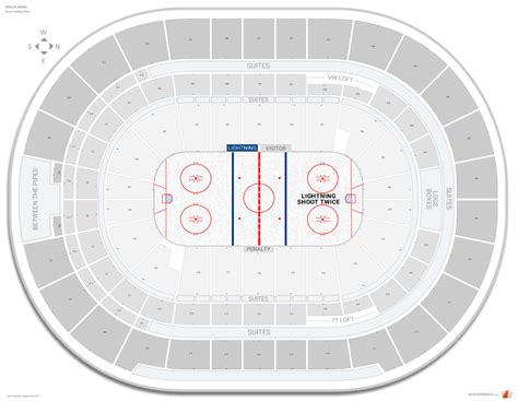 amalie arena seating chart ta bay lightning seating guide amalie arena