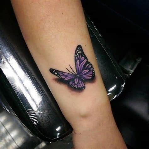beautiful 3d butterfly tattoos design on arm the ask